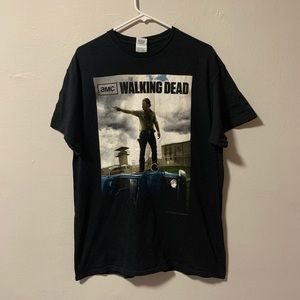 The Walking Dead promo t shirt